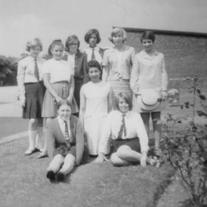 Hazel Barth and Pupils 1964?